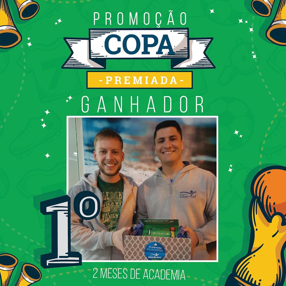 1º Lugar Promoção Copa Premiada