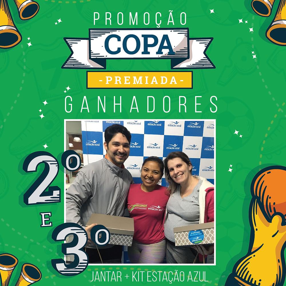 2º e 3º Promoção Copa Premiada