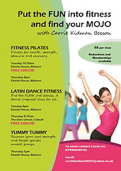 fiesta fit club, postnatal exercise classes, worcester postnatal, postnatal services