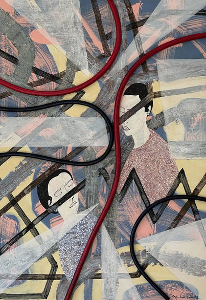 vortex-of-life-with-a-broken-glass_abraham-aronovitch_artwork