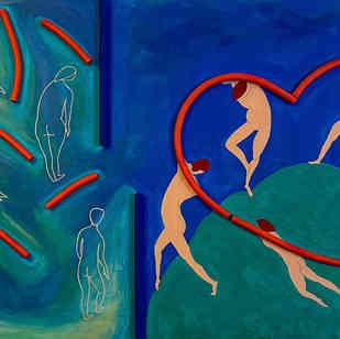 Understanding of Happiness  |  Hommage à Matisse