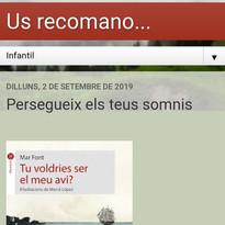 Us_recomano_Silvia_Cantos_Tu_voldries_se