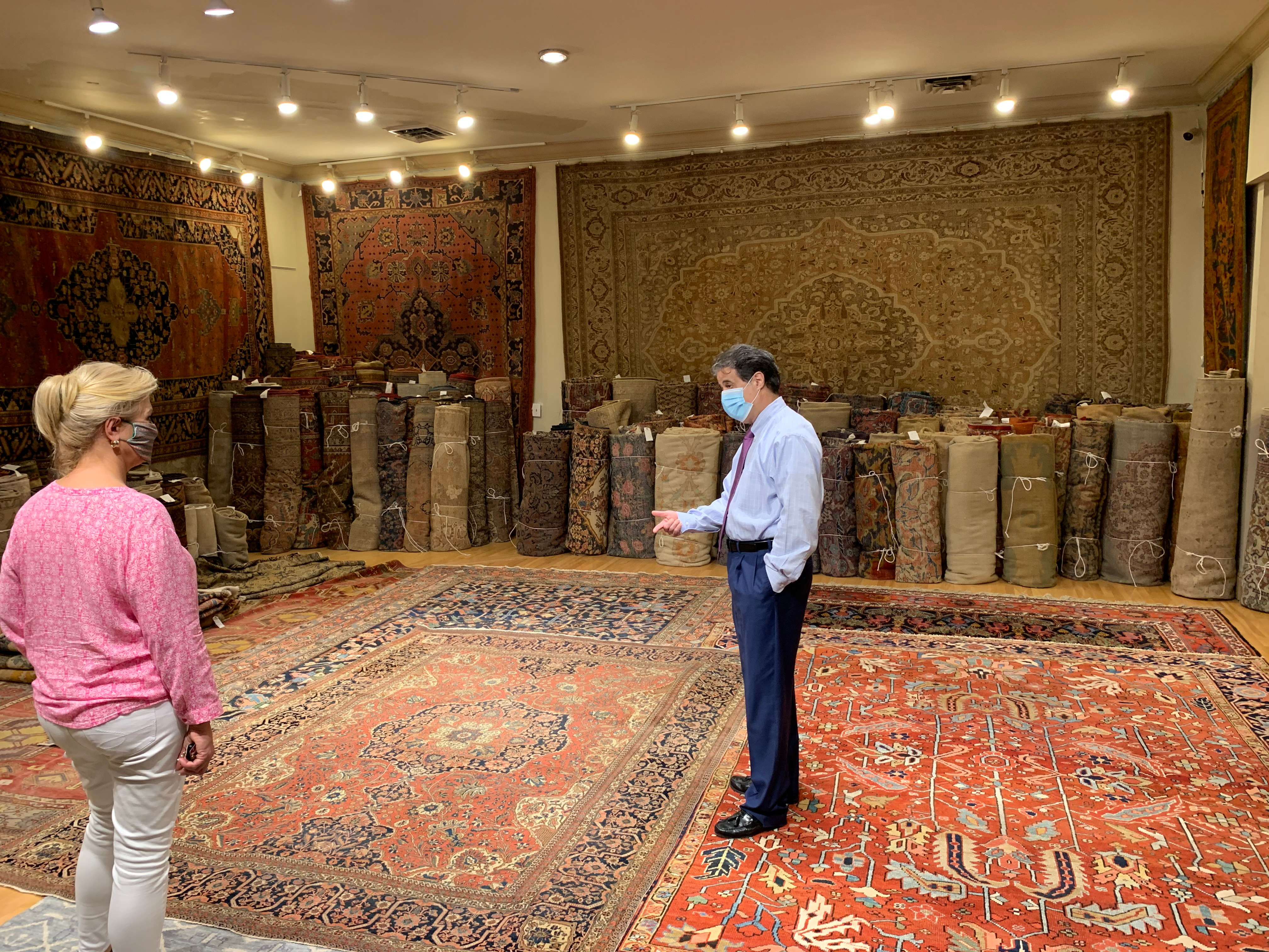 Private session to Show items in Gallery