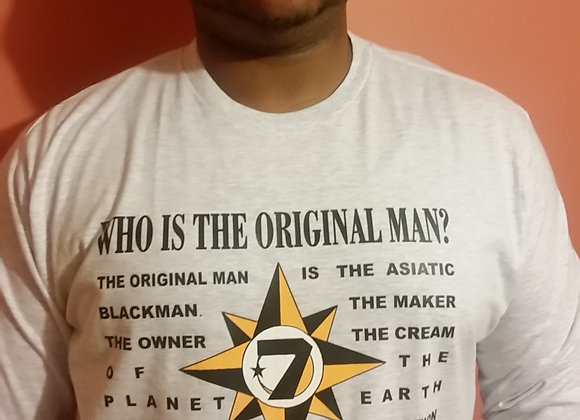 WHO IS THE ORIGINAL MAN?