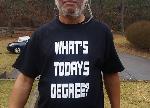 WHAT'S TODAYS DEGREE?