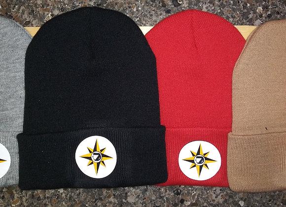 UNIVERSAL FLAG KNIT CAP w/BACK PRINT