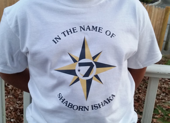 UNIVERSAL FLAG SHIRT (with personalized name)
