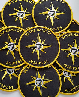 Allah's 5% - Universal Flag Patch