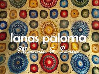 INTUICIÓN Y OFICIO. La colcha de Ana María en el escaparate de Lanas Paloma