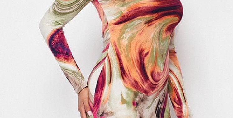 Swirl Me Dress