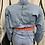 Thumbnail: 2 Chain Crop Denim Jacket
