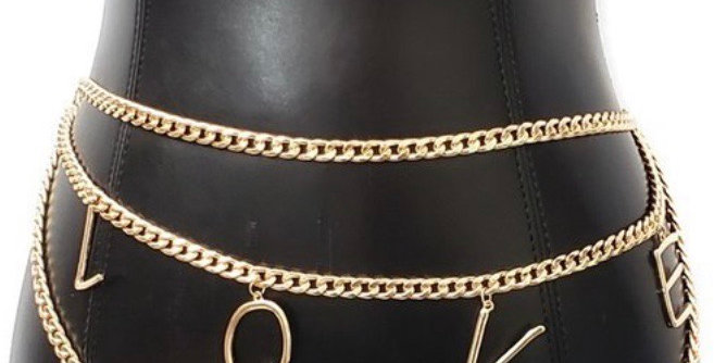 Love Chain Belt