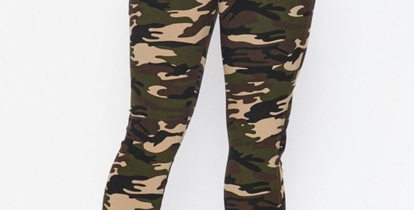 Her Stretchy Camo Pants
