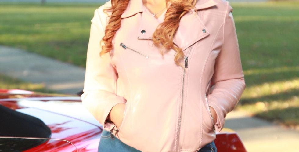 Blushy Her Jacket