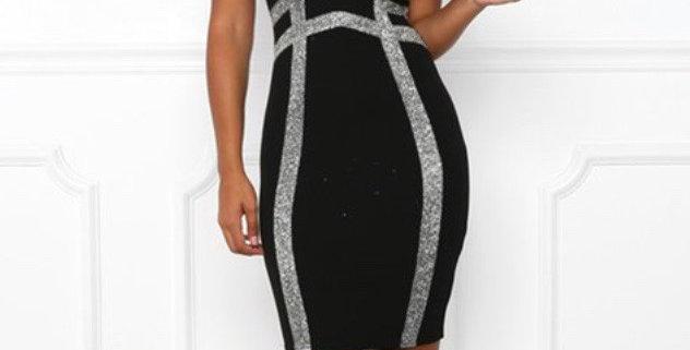 Shiny Nite Dress