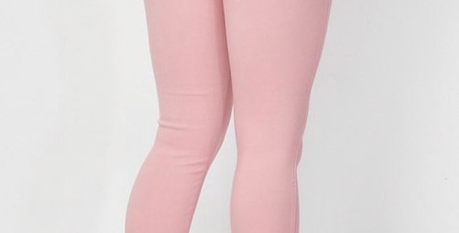 Her Stretchy Pants Pink