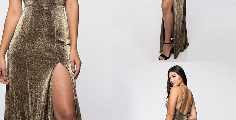 Shimmer Her Dress