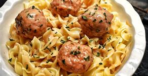 Swedish Meatballs Gravy