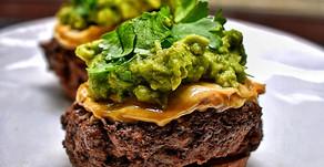 Mexican Beef Sweet Potato Sliders
