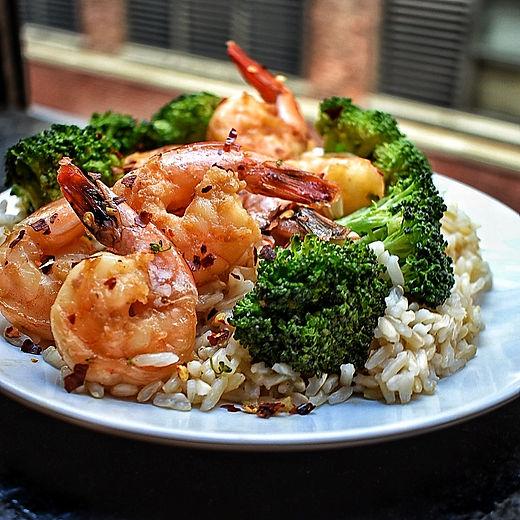 Honey Shrimp & Broccoli