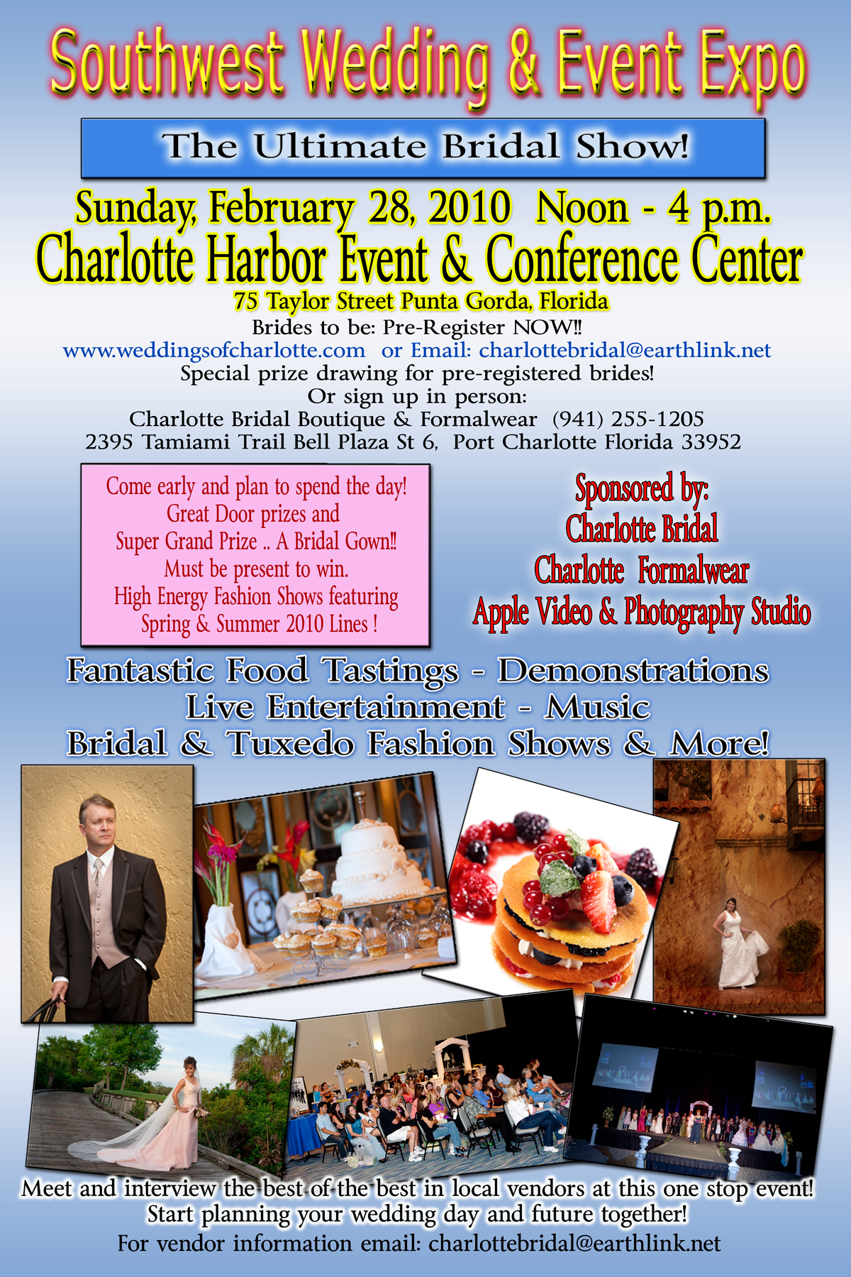 022810  Bridal Show Poster 20x30 001