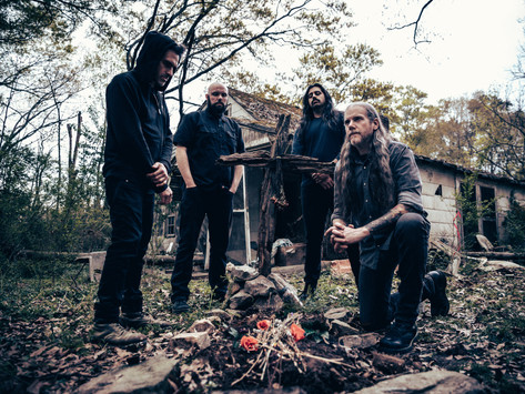 Premiere: WITHERED and Paul Romano share behind the scenes video on 'Verloren' album cover