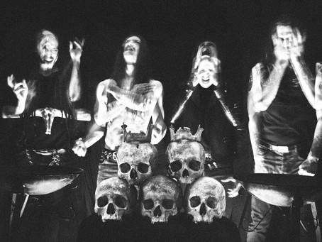 FUOCO FATUO announce new album 'Obsidian Katabasis' + share audio sample