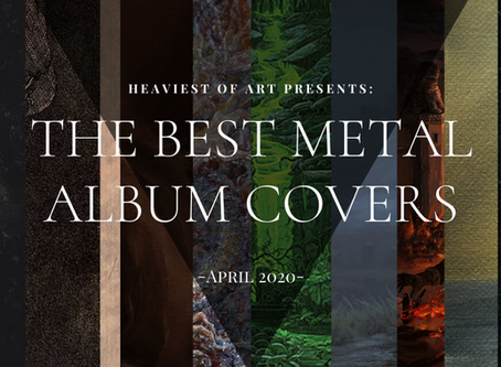 The best metal album covers of April 2020