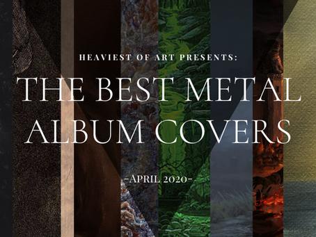 The best metal album covers of April 2020