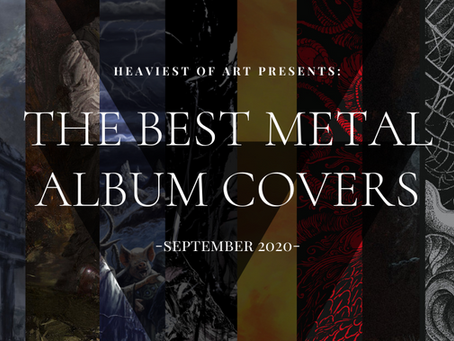 The best metal album covers of September 2020