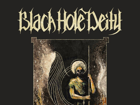 BLACK HOLE DEITY announce debut EP 'Lair of Xenolich'