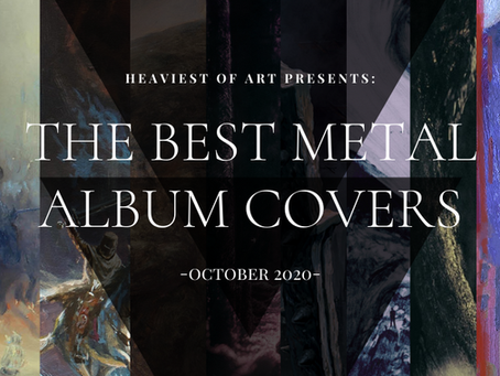 The best metal album covers of October 2020