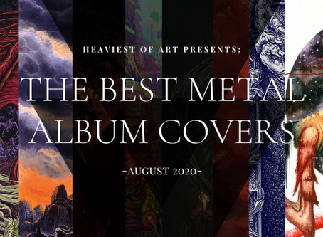 The best metal album covers of August 2020