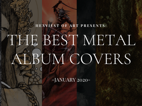 The best metal album covers of January 2020