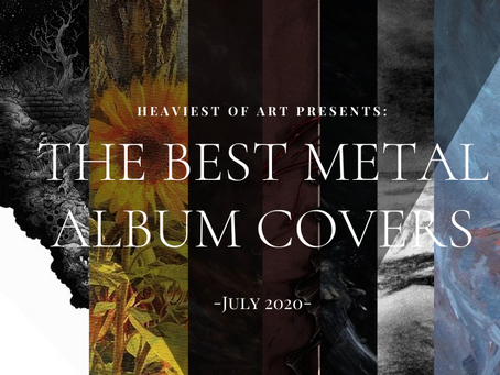 The best metal album covers of July 2020