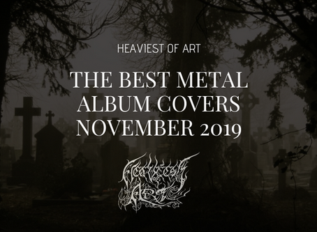 The best metal album covers of November 2019