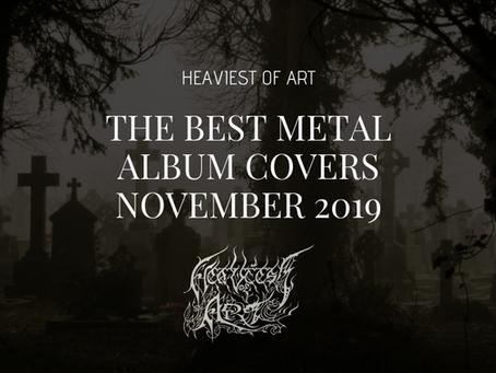 The best metal album covers of November 2019