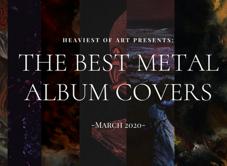The best metal album covers of March 2020