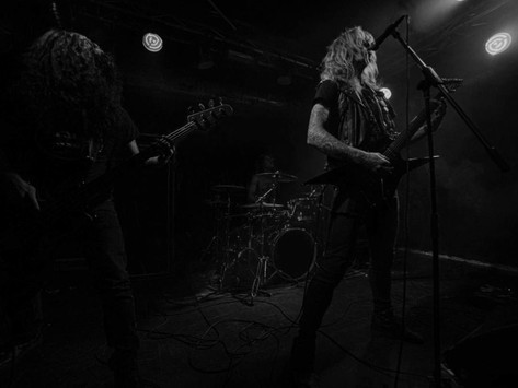 SULPHUROUS announce new album 'The Black Mouth of Sepulchre' + share lead single
