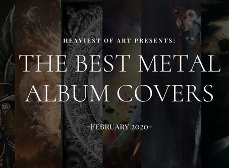 The best metal album covers of February 2020