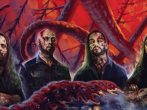 Exclusive: ABORTED unveil cover art for new album 'Maniacult'