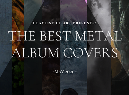 The best metal album covers of May 2020