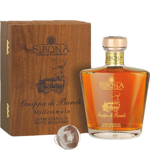 Antica Distilleria Sibona, Grappa di Barolo Millesimata Reserve 2005 44.0% 70cl