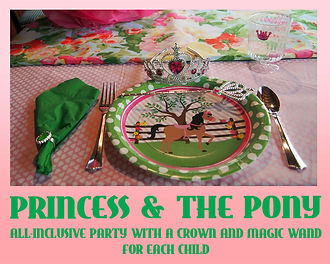 Princess and the Pony all-inclusive birthday party