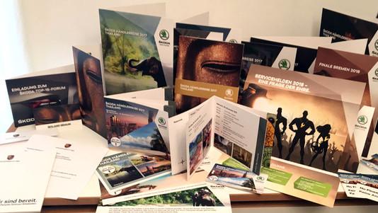 Printmittel rund um Event und Incentive-Reise