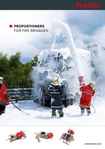 Produktbroschüre Zumischsysteme für Feuerwehren
