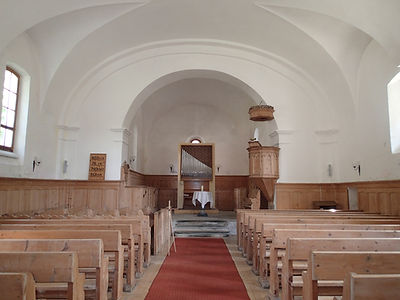 Kirche Hinterrhein