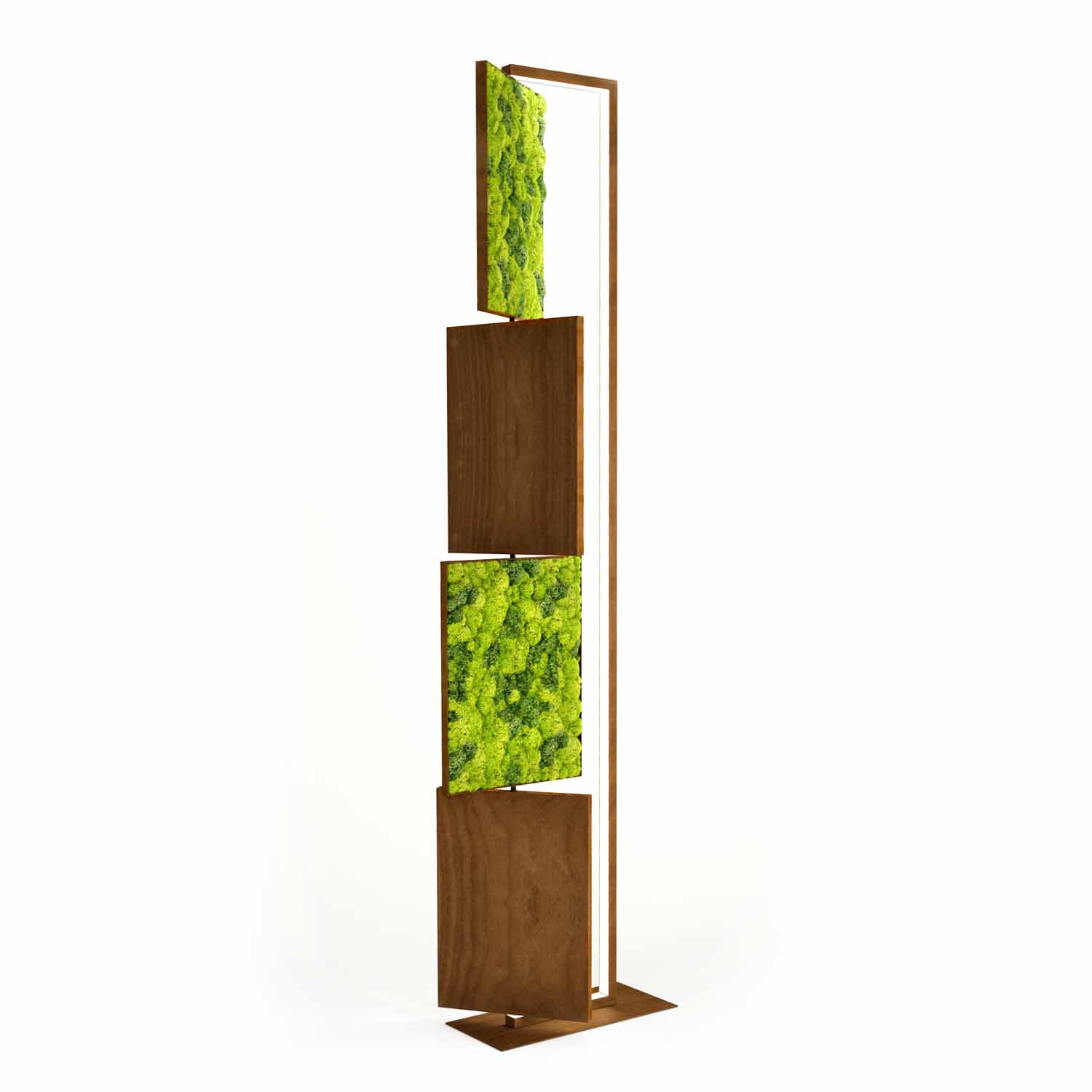 GREEN LIGHT FLOOR LAMP