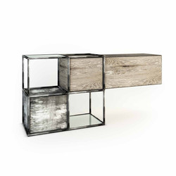 METAL CAGE COMMODE