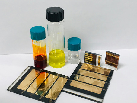 Fully ambient processing #Perovskite inks